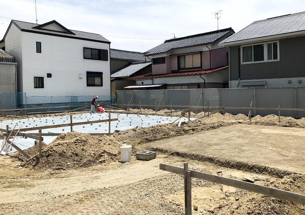 新社屋の建設が順調に進んでいます!